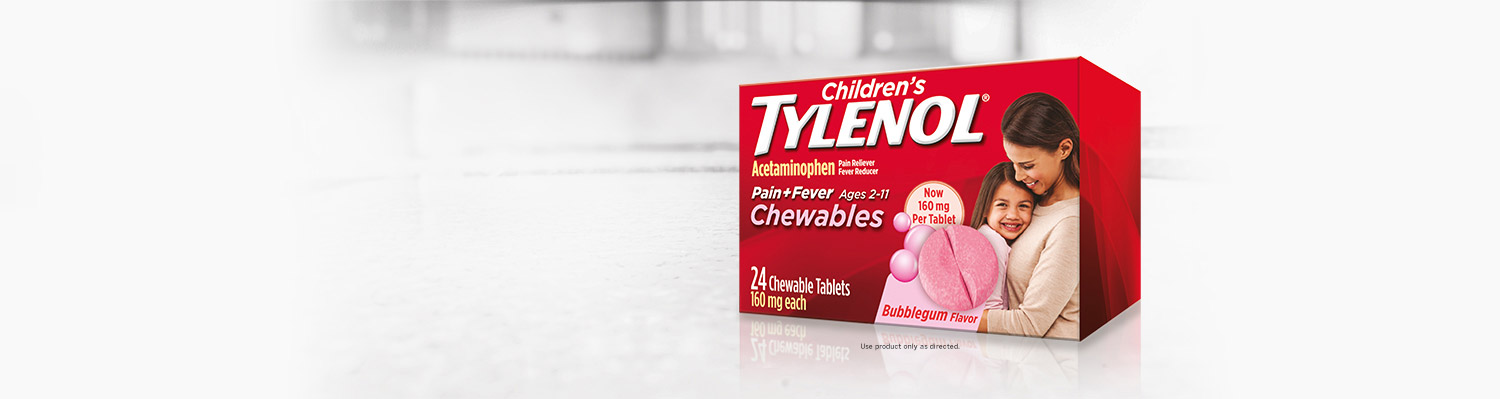 Children's TYLENOL® Chewables are back