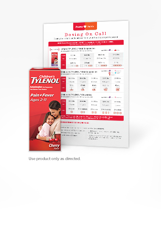 Children's TYLENOL® Dosing Chart