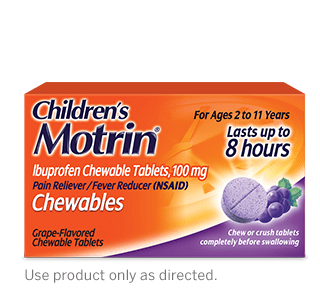 Children's MOTRIN® Oral Suspension dose