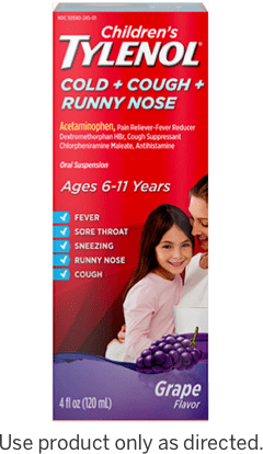 Infants TYLENOL® Oral Suspension dose