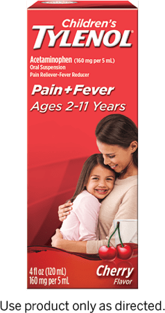 Children's TYLENOL® Oral Suspension dose