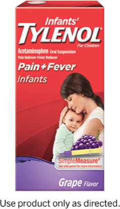 Infants' TYLENOL® Oral Suspension dose