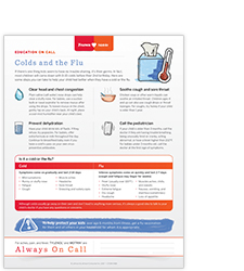 Baby cold & flu resources