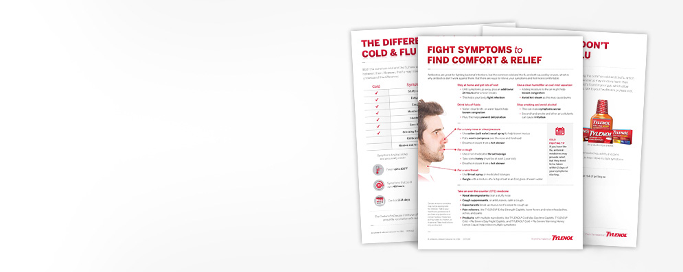 Cold & Flu Patient Resources