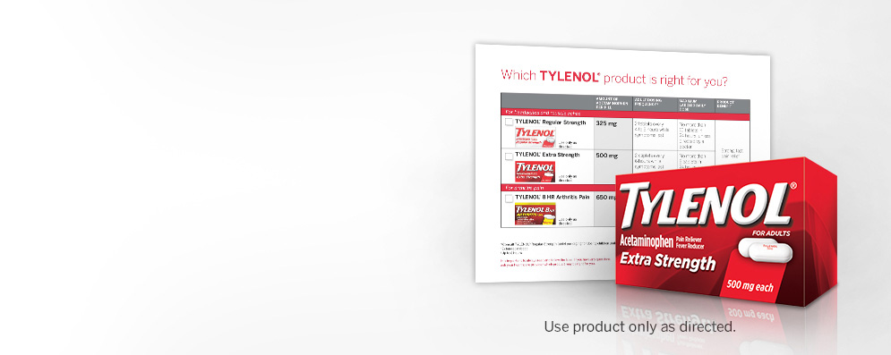 TYLENOL® Extra Strength and Gastrointestinal complications