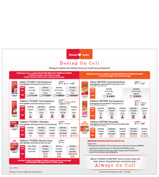 Infants TYLENOL® dosing guide